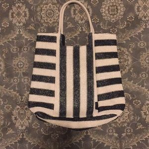 Kelly and Katie woven tote bag